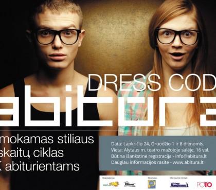 """DRESS CODE: Abitūra"" 2015 m."